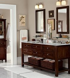 could make a vanity like this...