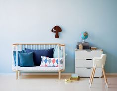 The FLEXA Baby Cot Bed is a beautiful baby bed that grows with your baby. The baby crib converts easily into a toddler bed. The FLEXA Baby Bed is 5 beds in Baby Furniture Sets, Bedroom Furniture Design, Modern Bedroom Furniture, Nursery Furniture, Scandinavian Furniture, Furniture Dolly, Contemporary Childrens Furniture, Modern Kids Furniture, Children Furniture