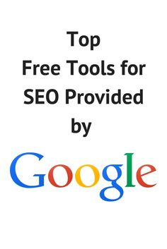 Have you taken advantage of all of Google's free SEO tools? #SEOPluz