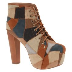 #CARAM Leather #bootiestyle shoes - $160.00