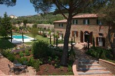 Under the Tuscan Sun movie. You can really rent these villas in Tuscany. I'm game. So pretty.