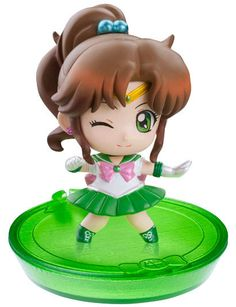 Sailor Moon Petit Chara Land Pretty Soldier - Sailor Jupiter Variante B  Sailor Moon - Hadesflamme - Merchandise - Onlineshop für alles was das (Fan) Herz begehrt!