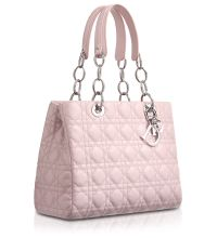 Dior Foulard Pink Soft Shopping Tote Bag