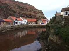 Staithes, Yorkshire, spent my summer hols here, feeling a bit homesick right now.  Wonderful memories!