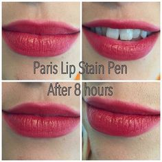 GLOSS GORGEOUS STAY ON LIP STAIN Two steps in one quick click of the pen: