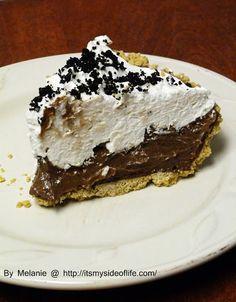 My Side of Life: Sweet Treat Friday - Chocolate Silk Pie