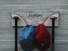 Baseball Sport Sign Hook Back To School Hanger by sportyracks