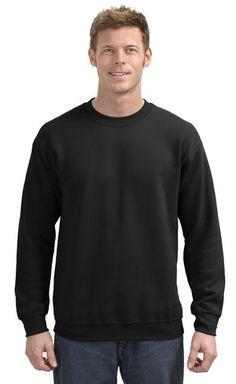 38b68a805aa Hanes® Ultimate Cotton® - Crewneck Sweatshirt. Embroidered ...