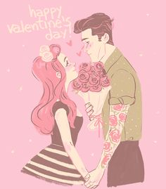 Elvishness: happy valentine's day, hades' holiday readers! ♥ ♡