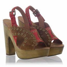 Cheap Exception Sandal Camel Coral Suede 312114 Fantastic | Ash Sneaker Kids