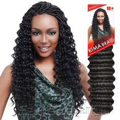 KIMA Braid Ripple Deep Wave made by Harlem Get the look and feel of the perfect beach bunny for less with our KIMA Ripple Deep Wave Crochet Hair. Senegalese Twist Braids, Micro Braids, Crochet Hair Styles, Crochet Braids, Bohemian Curly Hair, Ocean Wave Crochet Hair, Swimming Hairstyles, Large Box Braids, Wavey Hair