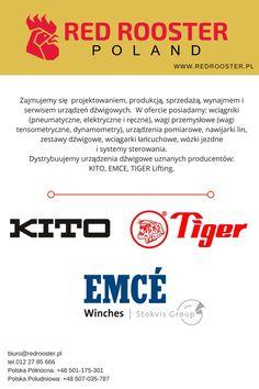 Dystrybuujemy urządzenia dźwigowe tylko uznanych i cenionych producentów.