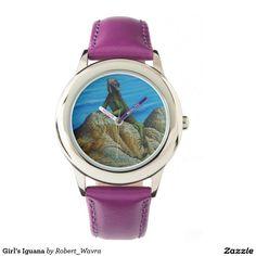 Girl's Iguana Watch