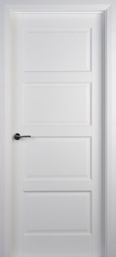 Contemporary 4 Panel White Primed Door (40mm) | Internal Doors | White Internal Doors