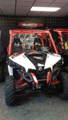 New 2016 Can-Am Maverick X xc 1000R White, Black & Can-A ATVs For Sale in Pennsylvania. 2016 Can-Am Maverick X xc 1000R White, Black & Can-Am Red, Includes Customer Cash. 2016 Can-Am® Maverick X xc 1000R White, Black & Can-Am Red DOMINATE TIGHT TERRAIN WITH A NARROWER 60 PROFILE. The Maverick X xc is the perfect model for trail riding enthusiast. With best-in-class power, beadlock wheels, premium analog/digital gauge and unique styling, it truly gives you the competitive edge on tight…