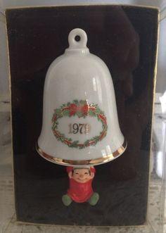 1st In Series Hallmark BellSwinger Ornament 1979 Elf Swinging On Bell Bellringer    eBay