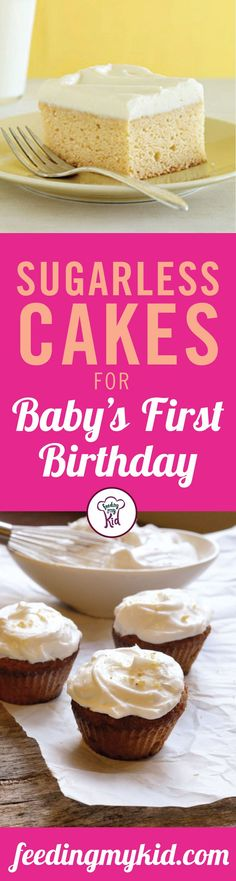 13 Sugarless Cake for Baby's First Birthday - Sugar should not be fed to children before they are 12 months old. The reasons behind this rule are that sugar can cause cavities and tooth decay as well as depress the immune system. Also, sugar is refined by chemical processes that can be harmful to babies. That's why we have curated this list of sugarless cakes for your baby's first birthday! From sugar free sponge cake to sugar free chocolate cake; these are perfect for your child's first…