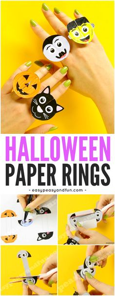 Printable-Halloween-Monsters-Paper-Rings-Paper-Craft-for-Kids-with-Template.jpg (700×1800)