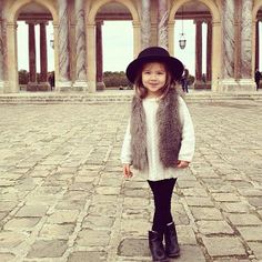she's five and has a more sophisticated wardrobe than me