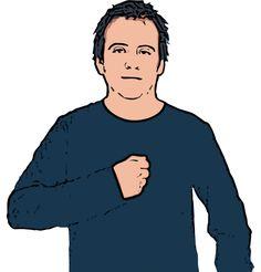 Mine - British Sign Language Dictionary