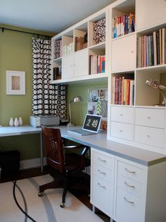 20 Beautiful Home Offices | Bright Bold and Beautiful