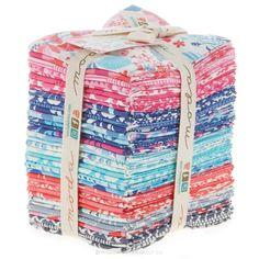Paradiso Fat Quarter Bundle - Kate Spain - Moda Fabrics