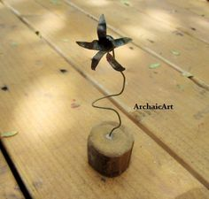 Bullet Flower Bullet Casing Flower Sculpture Steel by ArchaicArt