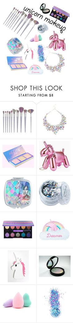 """Unicorn💗"" by genesis-ureta ❤ liked on Polyvore featuring beauty, Kate Spade, In Your Dreams, Urban Decay, Jazzelli Designs, Rare London and Forever 21"