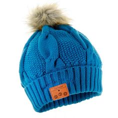 Tenergy® Bluetooth Beanie with Wireless Microphone and Faux Fur Pom : Target