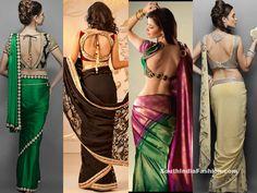 Delightful Sarees and Blouses ~ Celebrity Sarees, Designer Sarees, Bridal Sarees, Latest Blouse Designs 2014