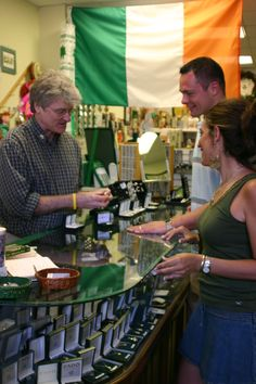 Find traditional Irish wares and clothing at Mrs. Murphy's Irish Gifts in downtown Sioux Falls | Visit Sioux Falls
