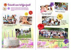 Bedanking lentefeest - stuur de gasten achteraf een origineel bedankje - een lentefeestkrant