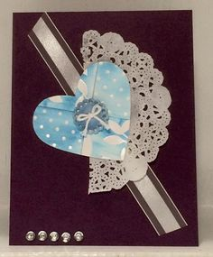 My1st sale a Bration card.  #valentine card #handmade card #stampinup #sale a Bration designer series paper #irresistibly yours.       http://www.theserialstamper.com