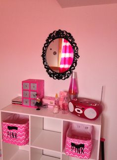 My Angel's PERFECT Victoria's Secret PINK Room!! #LovesHerNewRoom