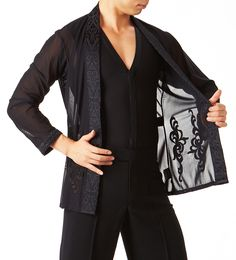 Taka Latin Dance Jacket MS214 | Dancesport Fashion @ DanceShopper.com