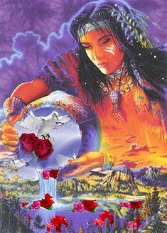 C&W plaatjes en animaties. indianen indian Big Dream Catchers, Glitter Graphics, My Heritage, Native American Art, Nativity, Clip Art, Fantasy, Painting, Native Americans