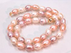 XaXe.com - FW nature pearl necklace bracelet earring