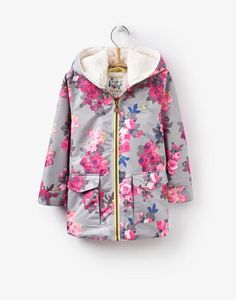 Joules Floral Raindrop Waterproof Coat Joules Back to school collection