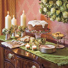 Grand and Gracious Christmas Dinner   Cake Embellishments   SouthernLiving.com