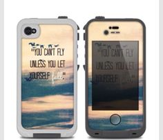 You can't fly unless you fall I love this phone case