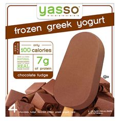 Chocolate ice cream without the side of guilt (and crazy-high sugar counts). Yasso's version is a winner in FITNESS' Healthy Food Awards