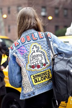 Trends for the Masses (TFTM): Custom Made: Punk Jacket.