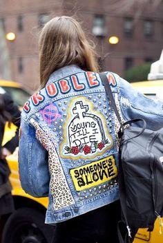 Trends for the Masses (TFTM)  Custom Made  Punk Jacket. Punk Jackets 9b2834bfab29c