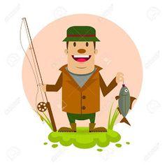 """Satiră și umor: Patru bărbați căsătoriți merg la pescuit. """"I-am promis soției că în urmatorul weekend voi zugravi toată casa"""" Fictional Characters, Fantasy Characters"""