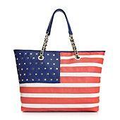 Betsey Johnson Handbag, Americana Tote