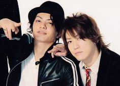 Koki Tanaka and Kazuya Kamenashi #KATTUN