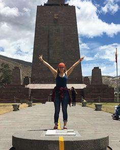 Mitad del Mundo: Die Mitte der Welt🌎 #ecuador #mitaddelmundo #mittederwelt…