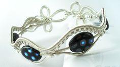 beaded silver cuff | JewelryLessons.com