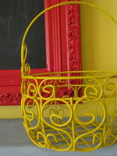 red and yellow: Daisy Cottage