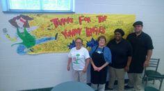 Whitaker Elementary thanks their School Lunch Heroes! Superhero Ideas, End Of Year, Food Service, School Lunch, Teacher Appreciation, Hospitality, Boards, Thankful, Teaching